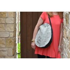 Swanky Shoulder Bag - CUSTOM ORDER Unique Oval Shape