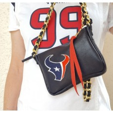 Houston Texans Game Day Leather Purse