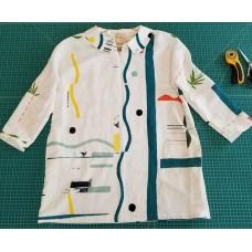 Swing Tunic in Japanese Linen
